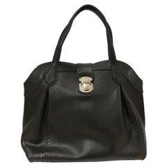 Louis Vuitton Black Python Limited Ed. Bag