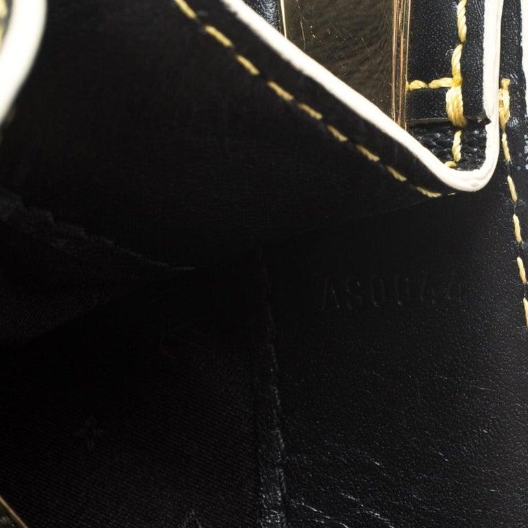 Louis Vuitton Black Suhali Leather Le Fabuleux Bag For Sale 5