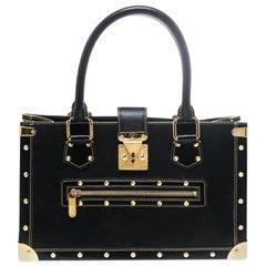 Louis Vuitton Black Suhali Leather Le Fabuleux Bag