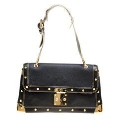 Louis Vuitton Black Suhali Leather Le Talentueux Bag