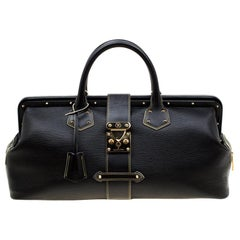 Louis Vuitton Black Suhali Leather L'Ingenieux GM Bag