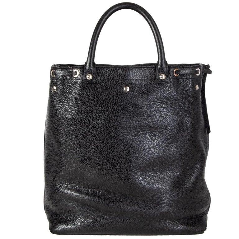 Black LOUIS VUITTON black Suhali leather TOBAGO TRUNKS & BAGS LTD ED Tote Bag