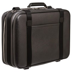 Louis Vuitton Black Taiga Leather Satellite 53 Suitcase