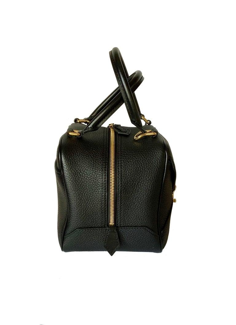 Women's or Men's Louis Vuitton Black Taurillon Neo Square Bag  For Sale