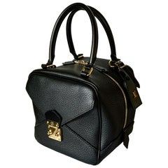 Louis Vuitton Black Taurillon Neo Square Bag