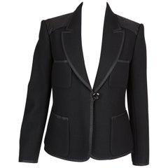 Louis Vuitton Black Wool Jacket