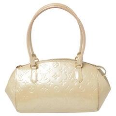 Louis Vuitton Blanc Corail Monogram Vernis Sherwood PM Bag
