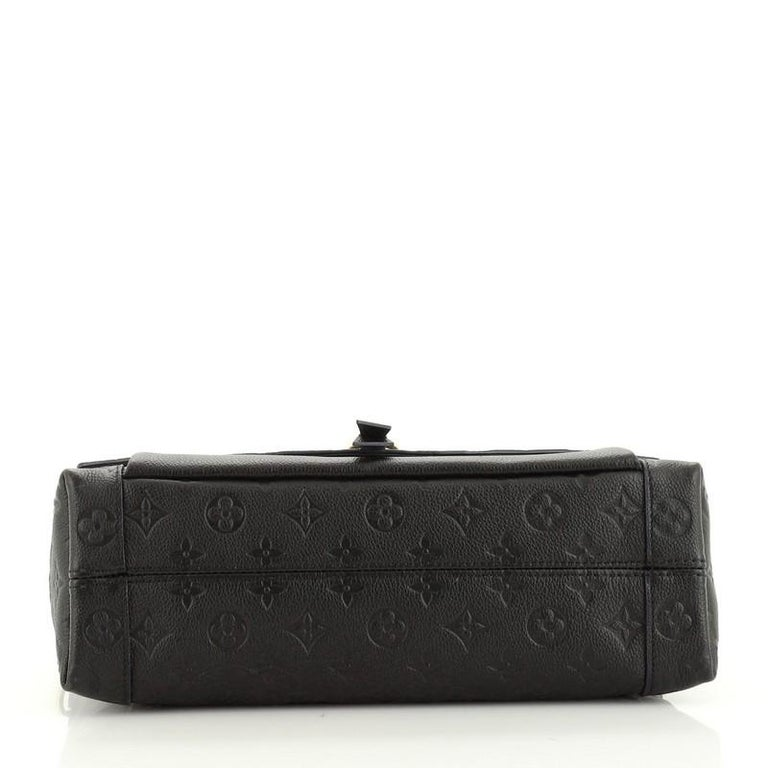 Women's or Men's Louis Vuitton  Blanche Handbag Monogram Empreinte Leather MM