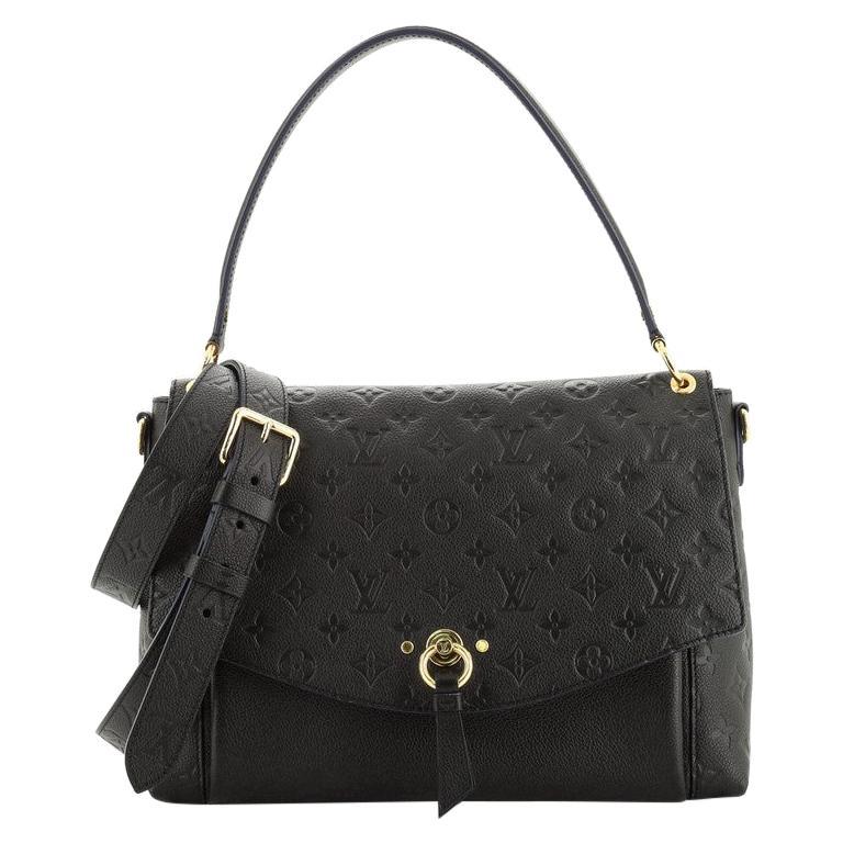 Louis Vuitton  Blanche Handbag Monogram Empreinte Leather MM