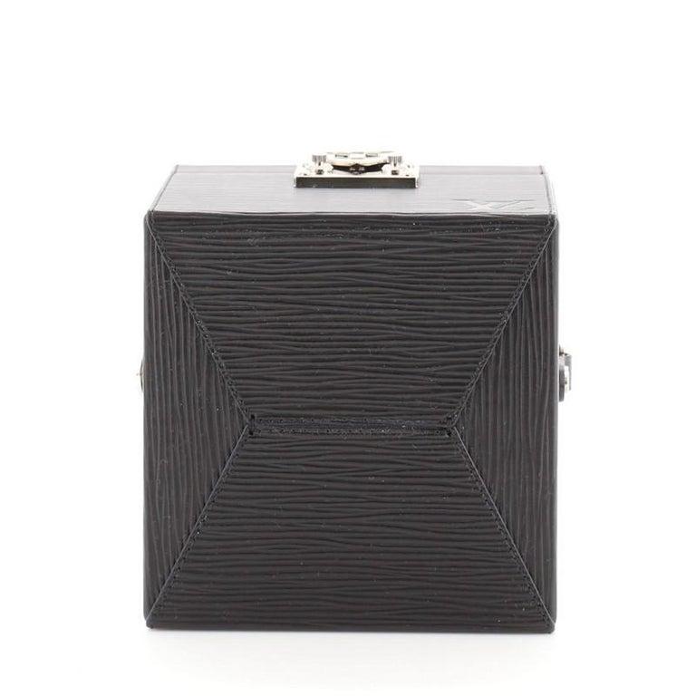 Louis Vuitton Bleecker Box NM Bag Epi Leather For Sale 1