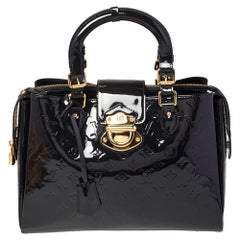 Louis Vuitton Bleu Infini Monogram Vernis Melrose Avenue Bag