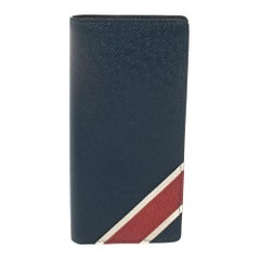 Louis Vuitton Bleu Marine Taiga Leather Brazza Wallet