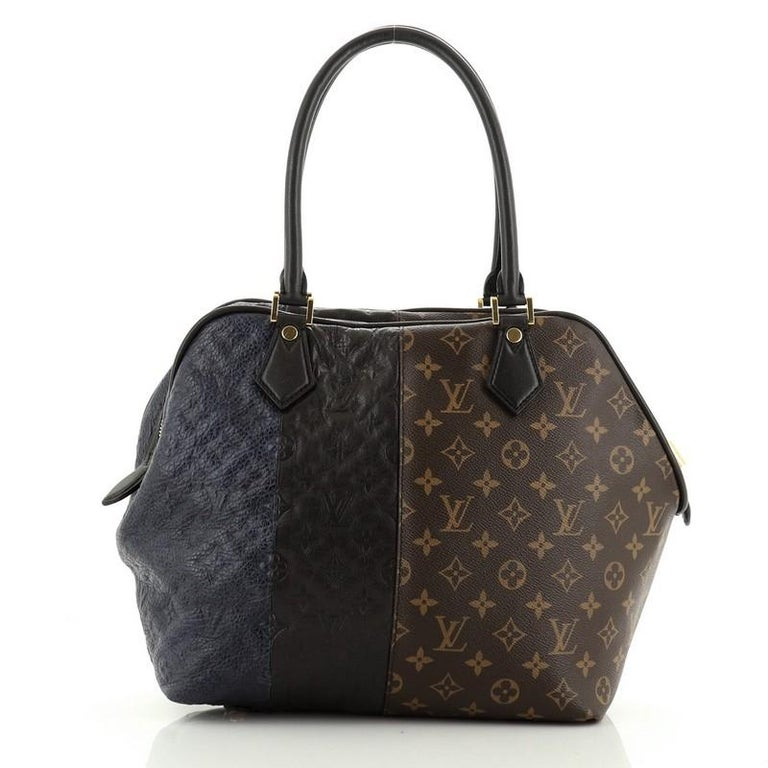 Louis Vuitton  Blocks Zipped Tote Limited Edition Monogram In Good Condition For Sale In New York, NY