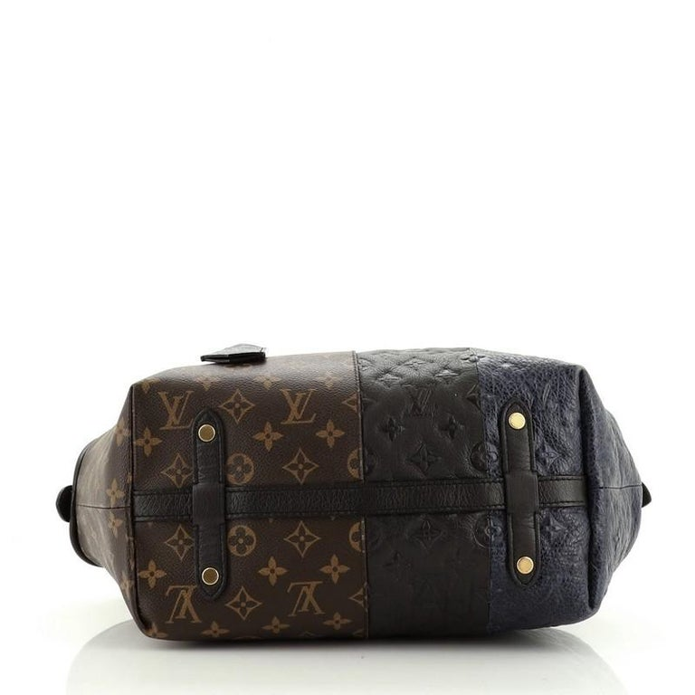 Women's or Men's Louis Vuitton  Blocks Zipped Tote Limited Edition Monogram For Sale