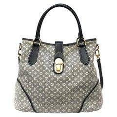 Louis Vuitton Blu Canvas Romance Mini Lin Shoulder Bag