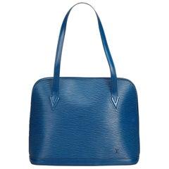 Louis Vuitton Blue Epi Lussac