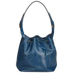 Louis Vuitton Blue Epi Petit Noe