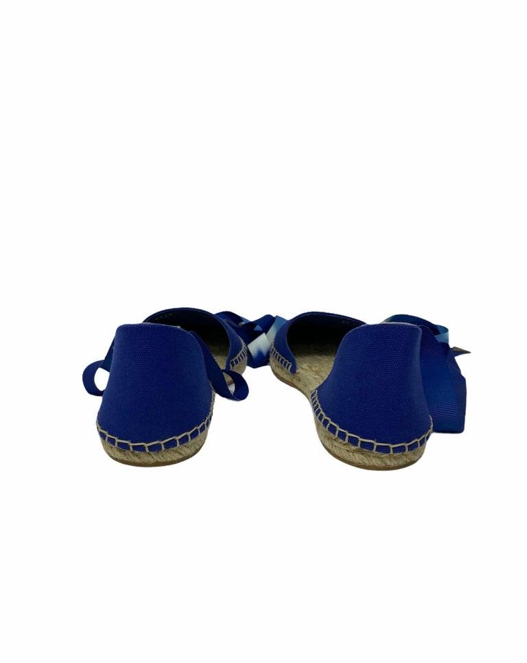 Louis Vuitton Blue Espadrilles For Sale 3