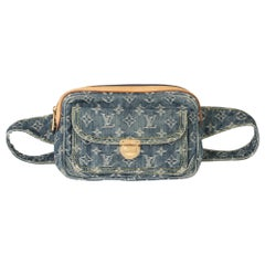 Louis Vuitton Blue Monogram Denim Bum Bag