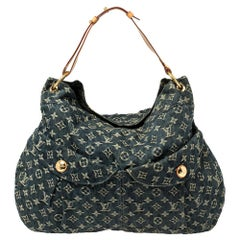 Louis Vuitton Blue Monogram Denim Daily GM Bag