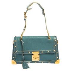 Louis Vuitton Blue Suhali Leather Le Talentueux Bag