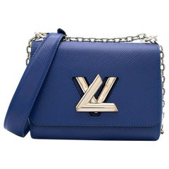 Louis Vuitton Blue Twist PM Epi Leather Mini Shoulder Bag