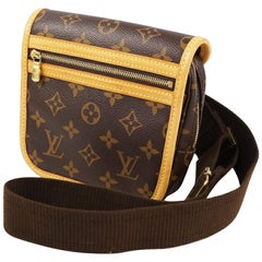 LOUIS VUITTON body bag Bam back Bosphore unisex Waist bag M40108 brown