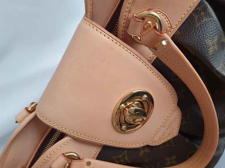 Louis Vuitton, Boetie in brown canvas For Sale 5