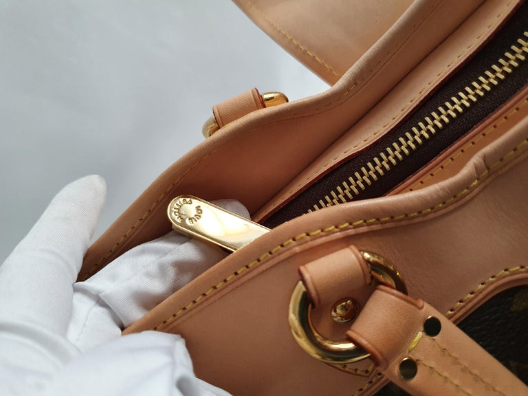 Louis Vuitton, Boetie in brown canvas For Sale 6