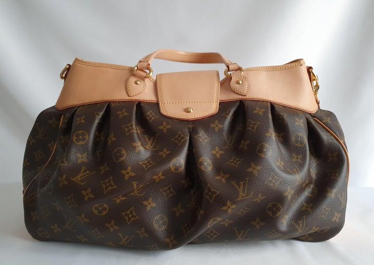 Black Louis Vuitton, Boetie in brown canvas For Sale