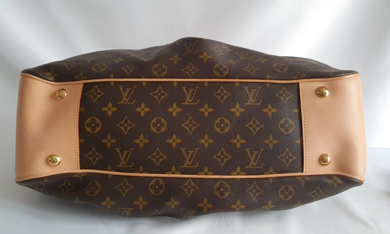 Louis Vuitton, Boetie in brown canvas In Good Condition For Sale In Clichy, FR