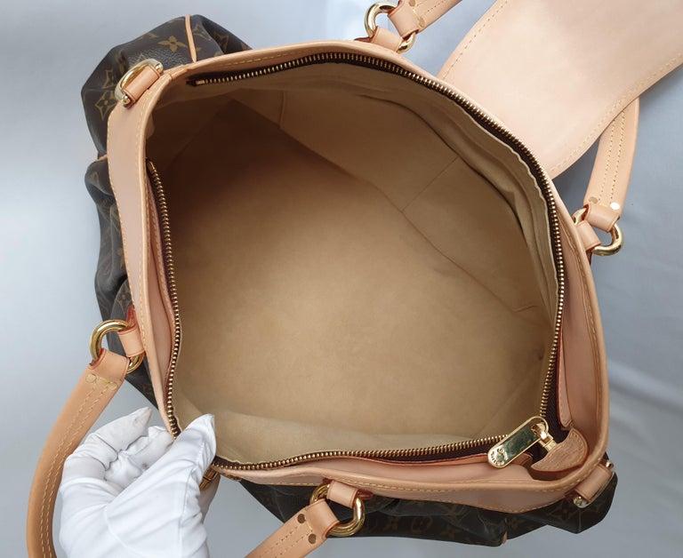 Women's Louis Vuitton, Boetie in brown canvas For Sale