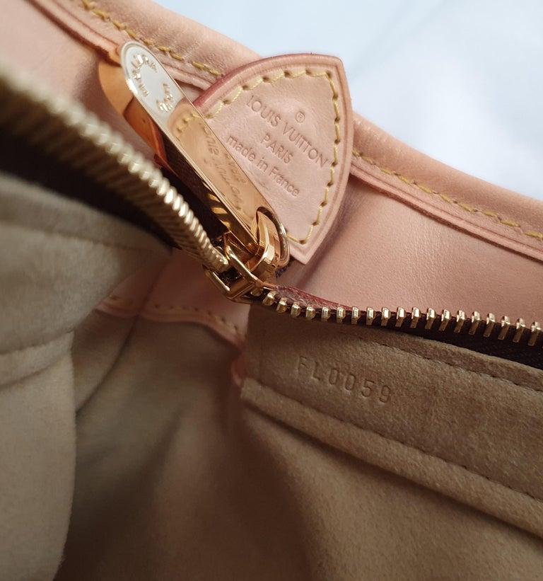 Louis Vuitton, Boetie in brown canvas For Sale 1