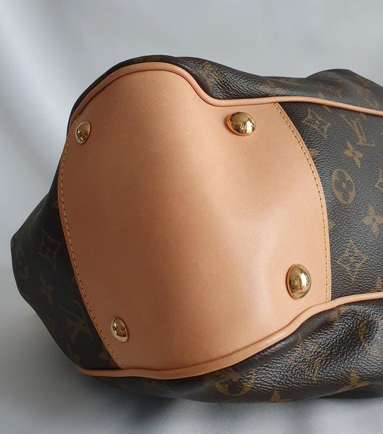 Louis Vuitton, Boetie in brown canvas For Sale 2