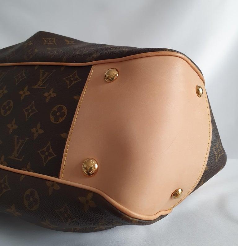 Louis Vuitton, Boetie in brown canvas For Sale 3