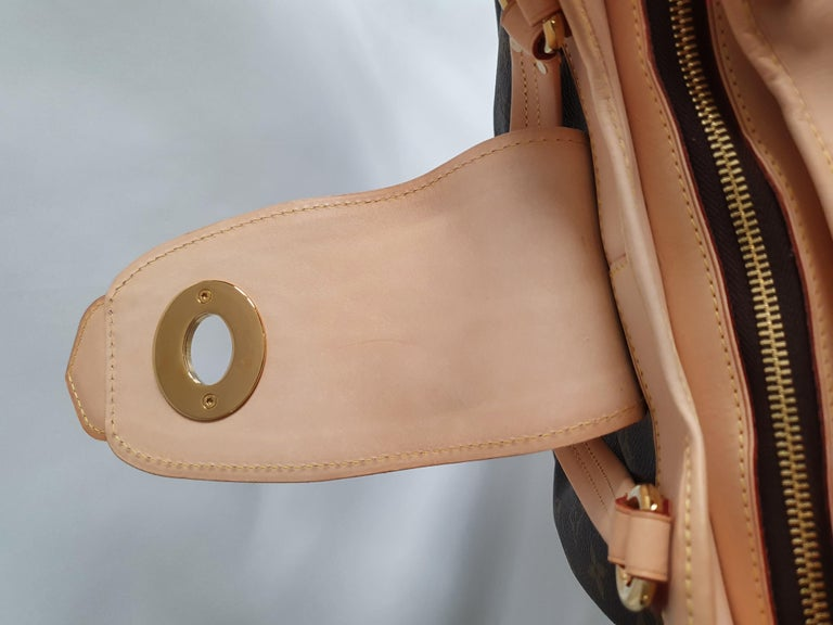 Louis Vuitton, Boetie in brown canvas For Sale 4