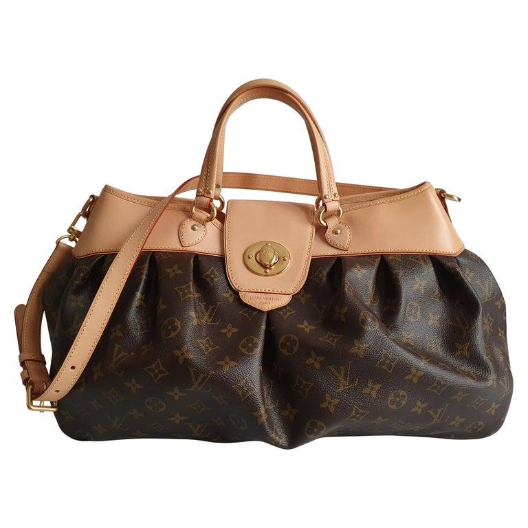 Louis Vuitton, Boetie in brown canvas For Sale