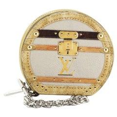 Louis Vuitton Boite Chapeau Coin Purse Limited Edition Time Trunk