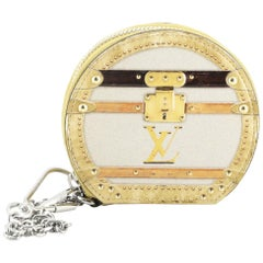 Louis Vuitton Boite Chapeau Coin Purse Limited Edition Time Trunk Monogram