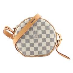 Louis Vuitton Boite Chapeau Souple Bag Damier PM