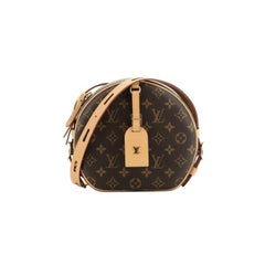 Louis Vuitton  Boite Chapeau Souple Bag Monogram Canvas