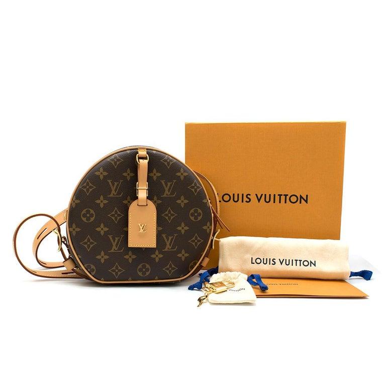 Black Louis Vuitton Boite Chapeau Souple Monogram Canvas Bag For Sale