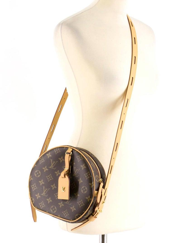 Louis Vuitton Boite Chapeau Souple Monogram Canvas Bag For Sale 3