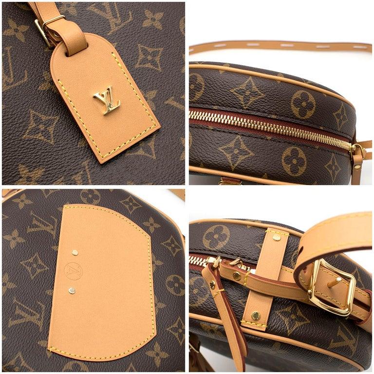 Louis Vuitton Boite Chapeau Souple Monogram Canvas Bag For Sale 4