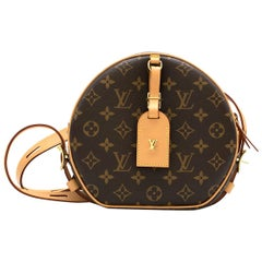 Louis Vuitton Boite Chapeau Souple Monogram Canvas Bag