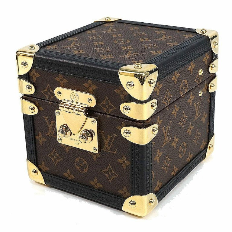 Black LOUIS VUITTON Boite Vivienne Music Box accessory case  Music Box unisex Other ac For Sale