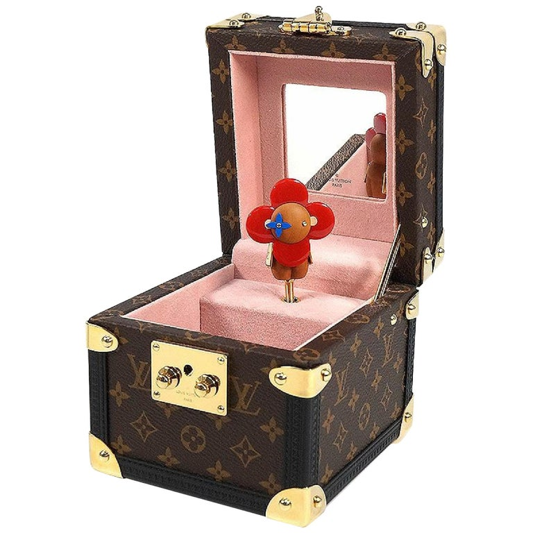 LOUIS VUITTON Boite Vivienne Music Box accessory case  Music Box unisex Other ac For Sale