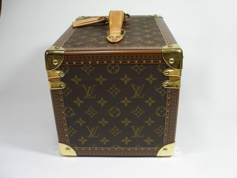 Black Louis Vuitton Boites à Flacons Beauty Case Monogram Canvas  For Sale