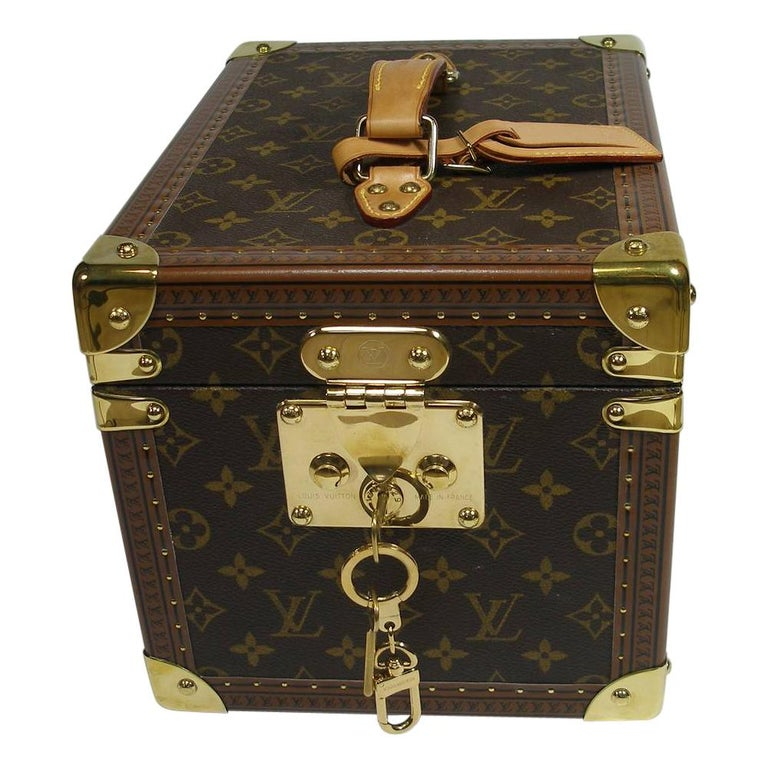 Louis Vuitton Boites à Flacons Beauty Case Monogram Canvas  For Sale