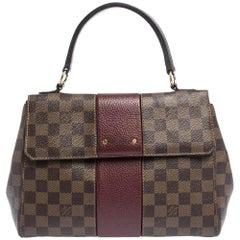 Louis Vuitton Bordeaux Damier Ebene Bond Street Bag